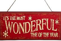Christmas / All things christmas! DIY's, decor, recipes, activities, inspiration...