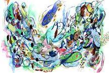 ART ART ART / painting, printmaking, sculpture, textiles, art, design, artists, creativity, fine art, etching, watercolour, acrylic painting, oil painting, relief print, screen print, silkscreen