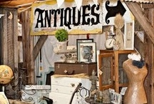 antique display/booth