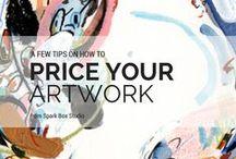 ARTIST RESOURCES / Business, art, art advice, guidance, how-to, tips and tricks, instagram, entrepreneur, artist, illustrator, freelancer, website, social media, photography, facebook, twitter, pinterest, etsy, marketing, selling art, pricing art, staying motivated
