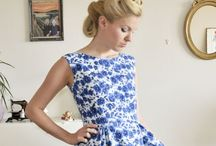 Dresses / Beautiful dresses in vintage style
