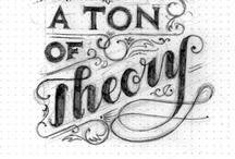 Typography Obsession / Obsession with hand drawn lettering and fonts.