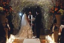 Meet you at the Chuppah... / Chuppahs are becoming a trend that extends beyond Jewish weddings. Elegant canopies/arches made of flowers and fabrics are a popular ceremony addition.