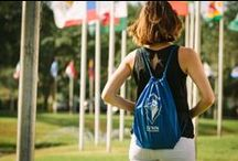 Explore Our Bookstore / Do a little retail therapy at the Lynn Bookstore to stock up on all Lynn University swag!