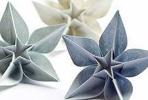 Origami och pappersfint