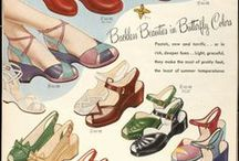 1940s Shoes and Accessories / 1940s and WWII era shoes and accessories / by Rochelle New // Lucky Lucille