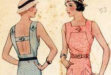 1930s Sewing Inspiration / 1930s Sewing Inspiration / by Rochelle New // Lucky Lucille