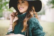 Fall and Winter Fashion / Looking stylish in the fall and winter with sun care awareness.