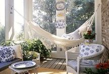 Porches & Patios / by Rochelle New // Lucky Lucille