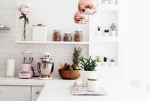 Kitchens / by Rochelle New // Lucky Lucille