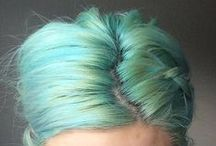 Mermaid Unicorn Hair Colors / fantasy hair color / by Rochelle New // Lucky Lucille