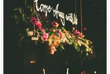 floral inspiration / wedding florals