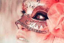 Inspire    Venetian Masks.