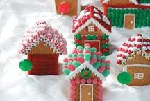 CHRISTMAS GingerBread Houses. / by Betty Ray Shassberger