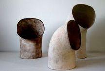ceramic, hand-built / Hand-built vessel/chalice