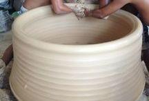 ceramics, thrown