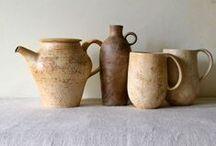 ceramic mugs, jugs, and pitchers