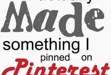 I Pinned it, I made it, I loved it! / I have actually made/done the pins on this board and loved them! Give em a try :) / by Sonya Olsen