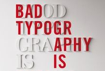 Typography / by Hugo Oliveira Vicente