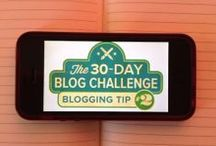 30-Day Blog Challenge / How many blog posts can your company write in 30 days? Show off your blogging skills to the world and enter HubSpot's 30-Day Blog Challenge! #blogfor30 / by HubSpot