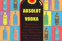 Absolut Advertising | vodka bottle art / Absolute, vodka, promotions, advertising, marketing, branding, Comunicació / by Packaging Diva