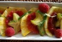 Fruit / Fruit Trays, Fruit Salads, Fruit dishes