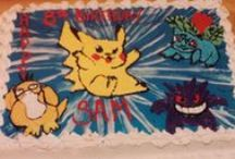 """""""Gamer"""" Cakes / Cakes with video game themes"""