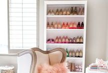 Closet Heaven / Shoe lovers also tend to be closet lovers. Tips on home & closet decorating & organization! / by Aetrex