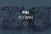 Pin to Win / You could WIN these diamond stud earrings! Follow us on Pinterest at https://www.pinterest.com/newtonsjoplin/ and repin the official contest pin through our Pin to Win Entry Form, http://woobox.com/8rbym6, using the #SparklingHoliday! Also, you can share this pin with friends on Facebook to earn two bonus entries every time they enter the contest through the shared link! Good luck and start pinning!
