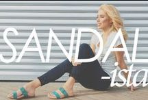 Sandals / Imagine wearing stylish sandals that are so comfortable you'll forget they're on your feet. Sandalista® by Aetrex integrates the latest fashion trends with advanced materials & designs to create the healthiest sandals you'll ever wear. www.aetrex.com/women/sandals-3/ / by Aetrex