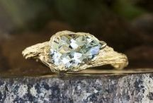 Engagement Bling / Diamond, sapphire and emerald rings, oh my! Fall in love with these sparkly stunners / by HuffPost Weddings
