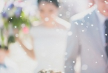 weddings: blurred