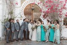 weddings: bridal party / by Emily @ Anna Delores Photography