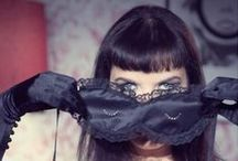 2013 Miss Kitty Blindfold Collection Love Me Sugar / Miss Kitty Blindfolds by Love Me Sugar. Silk and French lace. Yeah!