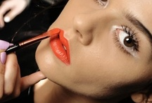 Bold Lips + Sparkly Eyes / by Sarah Bernard