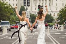 Lesbian Weddings / Because two brides are better than one / by HuffPost Weddings