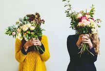 Floral / Flowers. Floral prints. Flower patterns. Floral fabrics. Floral arrangements. / by Avril Loreti | Modern Home