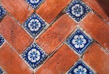 Tiles tiles tiles / Moroccan tiles. Victorian tiles. Modern tiles. Mix and match tiles. Mosaics. Contemporary tiles. / by Avril Loreti | Modern Home