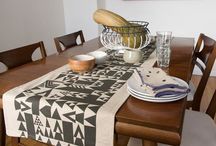 Tablecloths & Runners / Table runners, tablecloths, napkins, and home textiles. / by Avril Loreti | Modern Home