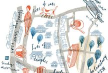 Maps! / I love maps! City maps, travel maps, invitation maps, subway maps, you name the map and I'll love it! / by Avril Loreti | Modern Home