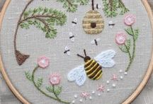 Stitches / Stitches, embroidery, and applique.