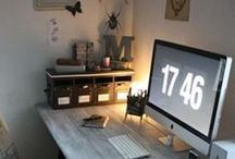 Study/Home Office Inspiration / What I want my study/home office to look like...