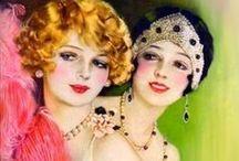 Eras I Love- 20's 30's Flapper Style & Art Deco / 1900's 1920's 1930's Flapper Style,  Art Deco, & Art Nouveau 1900s 20s 30s
