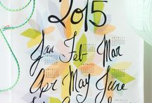 Best 2015 Calendars / My favourite 2015 calendars for the new year!! / by Avril Loreti   Modern Home