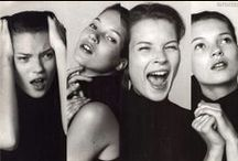 Kate Moss / Kate Moss. It's an enduring obsession.
