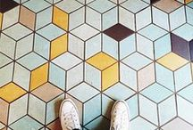 I Have This Thing With Floors / #IHaveThisThingWithFloors... and tiles... and floorboards...