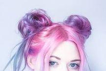 Hair Colour Inspiration / Crazy hair colours, hair trends, hair colour inspiration.