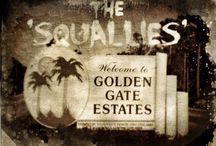 SQUALLIES / The Monsters of Captain Lazarus