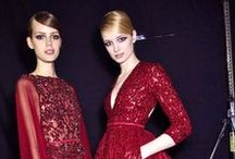Runway & Backstage Fashion / Haute couture and runway fashion. Backstage fashion.