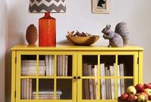 Yellow And Grey Home / Inspiration for my yellow and grey home. Colour scheme inspiration.